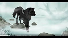 Nightingale by on DeviantArt Fantasy Wolf, Fantasy Art, Wolf Deviantart, Wolf Comics, Cartoon Wolf, Wolf Character, Wolf Artwork, Cute Animal Drawings, Dog Drawings