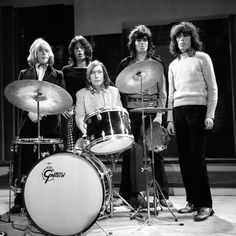 I love this picture of The Rolling Stones.