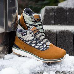 BUTY TREKKINGOWE SALOMON UTILITY SPORT TS WR Winter Shoes 9d85a5fdebc