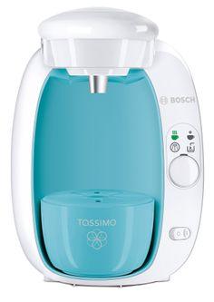 Bosch Tassimo, light blue and white