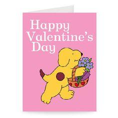 cartoon happy valentine's day
