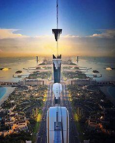 Think Positive, be Positive. Tomorrow is a better day 📷: Dubai City, Dubai Travel, Better Day, E Bay, Times Square, Photos, Info, Landscape, Building