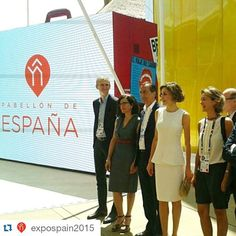 Queen Letizia of Spain Visits Expo 2015 on July 23, 2015 in Milan, Italy.