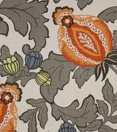 Richloom Studio Upholstery Print Fabric-Prophet Mandarin