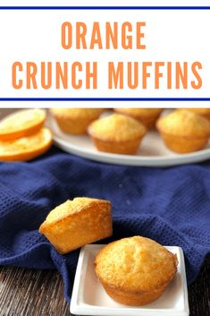 Absolutely delicious recipe for Orange Crunch Muffins. Super simple using every day ingredients with a lovely crunchy syrup topping.