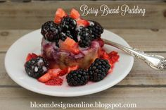 Make It Monday- Berry Bread Pudding