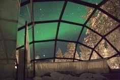 glass igloo hotel norway - Google Search
