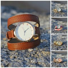 feral watches- love this leather one!