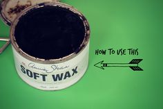 Tips for using Annie Sloan dark wax. Perfect for my dresser-turned-tv-stand that I want to paint Antibes green. Furniture Wax, Chalk Paint Furniture, Refinished Furniture, Repurposed Furniture, Furniture Projects, Furniture Makeover, Diy Projects, Annie Sloan Wax, Annie Sloan Chalk Paint