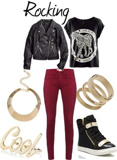 "Outfit inspired by: Teen Top ""Rocking"" MV. Love this look"