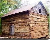 How to Build a Primitive Log Cabin thumbnail