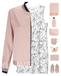 """""""Street style"""" by genesis129 ❤ liked on Polyvore featuring Monki, Miss Selfridge, Filling Pieces, H&M, iittala, Surya, philosophy, vintage, StreetStyle and sneakers"""