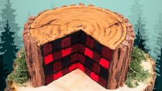 Subscribe for new videos: ... Today I am showing you how to make a lumberjack cake for Canada day! This is a checkerboard cake decorating design in a plaid pattern that will impress anyone when you slice into it and reveal the surprise!. How, Make, Cake,