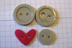 DIY paper buttons Tutorial ... when you can't find the perfect button for your creation...make your own!