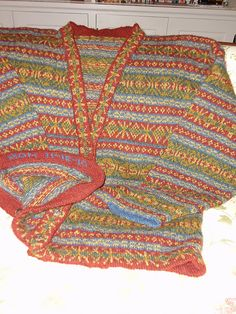 Cardigan pattern by Alice Starmore The Hebrides ( heb ik)