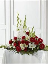 Send The FTD® Crimson & White™ Arrangement in Las Vegas, NV from Blooming Memory, the best florist in Las Vegas. All flowers are hand delivered and same day delivery may be available.