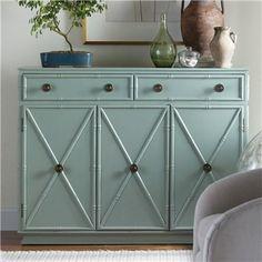 Storage Furniture - Somerset Bay Gustavia Cabinet I Layla Grayce - light blue bamboo cabinet, faux bamboo cabinet, faux bamboo light blue cabinet,