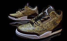 """Air Jordan 3 """"Cork"""" Custom"""