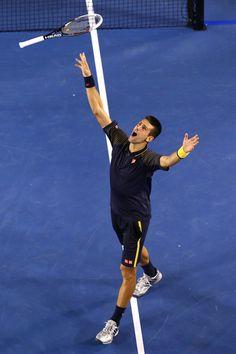 Novak Djokovic Photo - 2013 Australian Open - Day 14