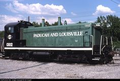 RailPictures.Net Photo: PAL 1302 Paducah & Louisville Railroad EMD SW-13 at Paducah, Kentucky by Sid Vaught