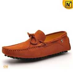 Mens Suede Leather Driving Loafers CW740120 $168.89 - www.cwmalls.com