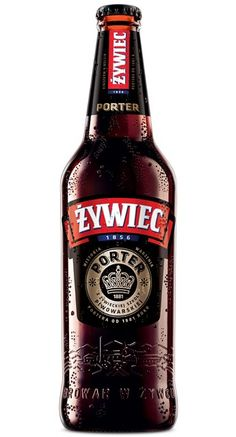 Cerveja Zywiec Porter, estilo Porter, produzida por Zywiec, Polônia. 5.6% ABV de álcool.