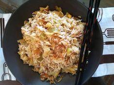 Κινέζικο τηγανητό ρύζι συνταγή από elena_dimitris - Cookpad Cauliflower, Macaroni And Cheese, Cabbage, Grains, Rice, Vegetables, Ethnic Recipes, Food, Head Of Cauliflower