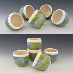 Remember roly poly glasses? I used to play with them for hours as a kid. Whether full of tea, whiskey, Bailey's, or limoncello, these roly poly whiskey cups can double as a party game. #whiskeycups #whiskey #cups #northwindpottery #pottery #potterslife #pottersofinstagram #ceramics #ceramicartist #handmade #handmadepottery #shopsmall #gifts #giftideas #etsy #etstseller #etsyshop #aperitif