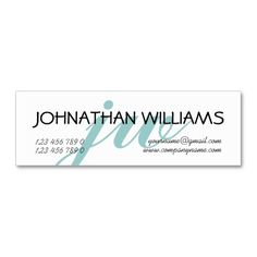 138 best monogram business cards images on pinterest monogram monogrammed professional blue powder business cards colourmoves