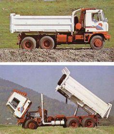 Tatra - www. Dump Trucks, Big Trucks, Old Cars, Cars And Motorcycles, Vehicles, Model, Trucks, Historia, Tractor