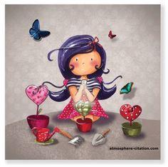 Le bonheur du jardinier, cet humble et grand amoureux de la nature, c'est de plonger ses doigts dans la terre, pour la sentir, la remuer, l'ensemencer et de croire à l'illusion que ce sont ses gestes qui font surgir la vie. Ce qui parfois n'est pas illusion...