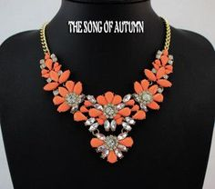 Item Type: Necklaces Fine or Fashion: Fashion Chain Type: Link Chain Shape\pattern: Plant Necklace Type: Pendant Necklaces Material: Acrylic Brand Name: VODESHANLIWEN Model Number: djj777 Style: Trend