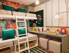 Quarto jovem por Sesso e Dalanezi #beliche #bedroom #homedecor #interiordesign #decoração #quartomoderno