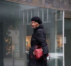 Outfit: puffer coat and Dolce
