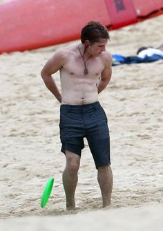 Josh Hutcherson shirtless on Catching Fire set his tanlines are cute lol