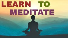 The thing about meditation is that you become more and more you. The more deeply you meditate, the sooner you will find your inner strengt. Learn To Meditate, Life Rules, Simple Life Hacks, Health And Wellness, Meditation, Relax, Learning, Health Fitness, Keep Calm