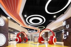 上海中信泰富万达广场:重温即将被城市化遗失的美好-室内设计师平台 -室内设计论坛-扮家家室内设计网 Mall Design, Retail Design, 3d Design, Store Design, Commercial Interior Design, Commercial Interiors, School Architecture, Fantastic Art, Shopping Mall