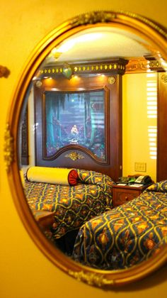 Mirror: Through the looking glass. Port Orleans Riverside - ROYAL ROOMS