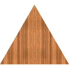 Zebra Wood Nature Themed Fabric Wall Sticker (Triangle)