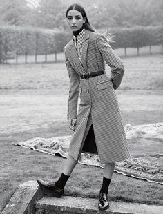 """""""A Month In The Country"""" / Vogue UK February 2017"""