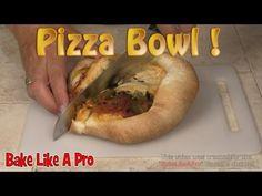 Pizza Bowl Recipe - Upside down pizza recipe - YouTube