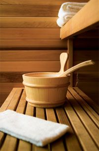 instructions for steam room, sauna, shower, and ginger bath sweat detoxes