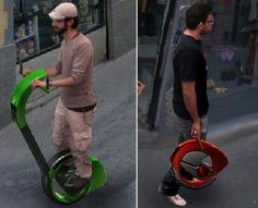 Concept Vehicles, Segway, Orbis, Future Transport