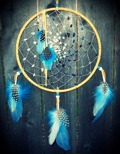 Dream Catcher Moon of my life by 7WishesDreamcatchers on Etsy, $99.00