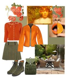 """Dinner in autumn garden"" by guzeliko on Polyvore featuring мода, Frye, Duvetica, Williams-Sonoma и Everlane"