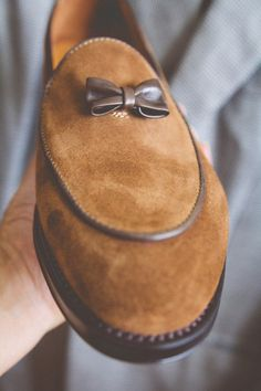 Sprezzatura-Eleganza | brokeandbespoke: My wife bought me these shoes...