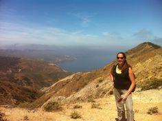 Park Family Insurance > Blog - Montanon Ridge overlooking Prisoner's Harbor, Santa Cruz Island, Channel Islands National Park