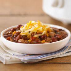 Slow-Cooker Hearty Beef Chili II Recipe
