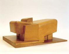 Architecture Principe (Claude Parent, Paul Virilio): Eglise Sainte-Bernadette-du-Banlay, Nevers, 1963-1966  Maquette N°1