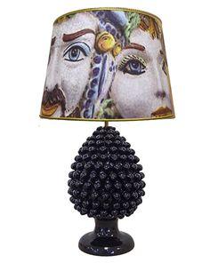 """Mori Innamorati"" #loveitaly #homedecor #lighting #lampshade #homeinterior #interiordesign #homeidea #taormina #madeinitaly #ceramicadicaltagirone #homedesign #lamps #decor #arch"